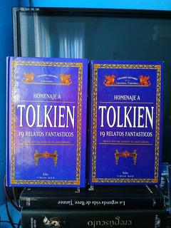 Homenaje A Tolkien 19 Relatos Fantásticos Tomo 1 Tomo 2