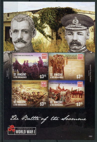 2015 Primera Guerra Mundial- St Vincent & Grenadines - Mnh