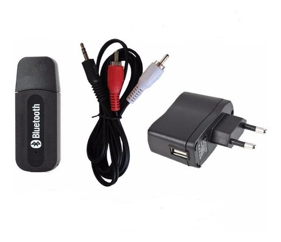 Kit Adaptador Receptor Bluetooth Usb Caixa Som Home Theater