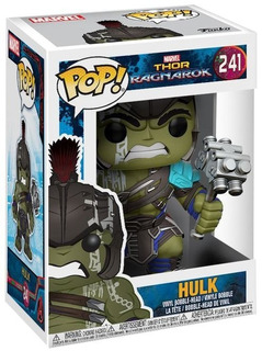 Funko Pop Thor Ragnarok 241 Hulk Nuevo Magic4ever