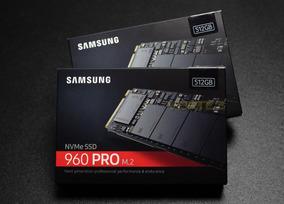 Hd Ssd 512gb Samsung 960 Pro M.2 Pronta Entrega. Lacrado.