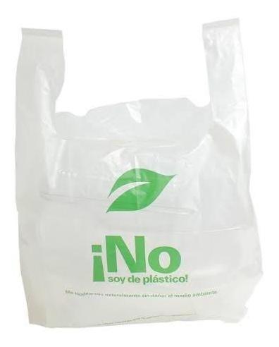 Bolsas Biodegradable Compostable No Soy De Plástico 1000 Pz