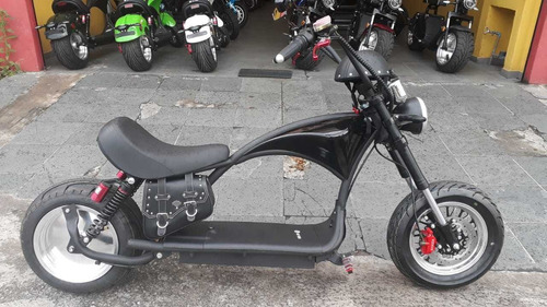 Harley Chopper Electra Motor Eletrico 100% Bateria