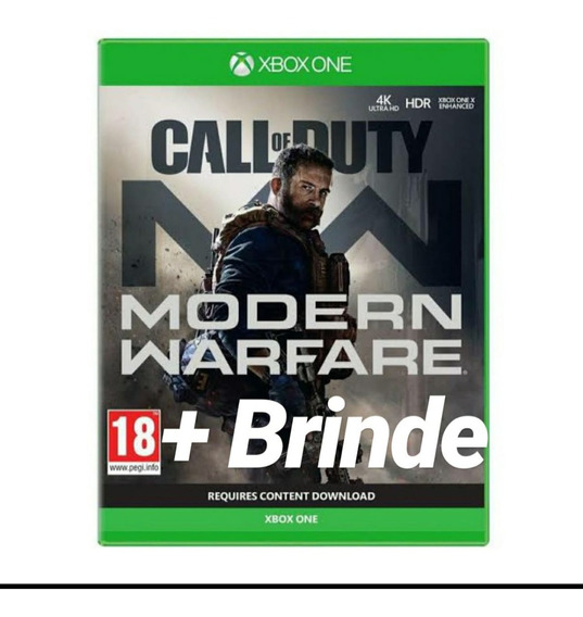 Call Of Duty Modern Warfare Xbox One Midia Digital + 1 Jogo