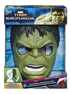 Marvel Thor Ragnarok Mascara Hulk Out Mask Hasbro