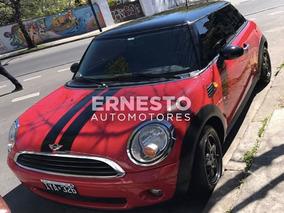 Mini Cooper 2010 Full Nafta Rojo Pocos Km Financio