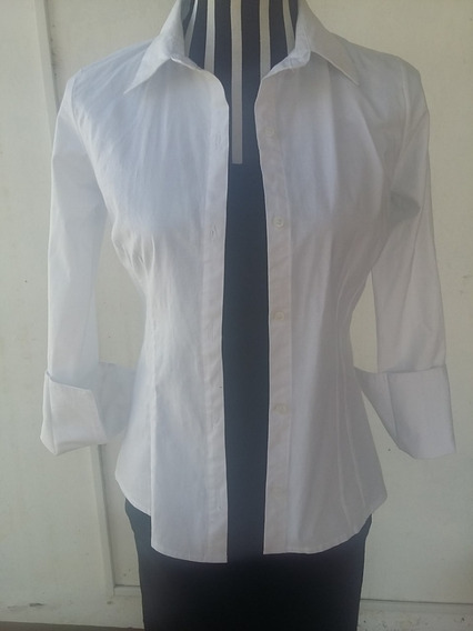 Camisa Blanca Mujer, Talle: 1, Marca: Property,
