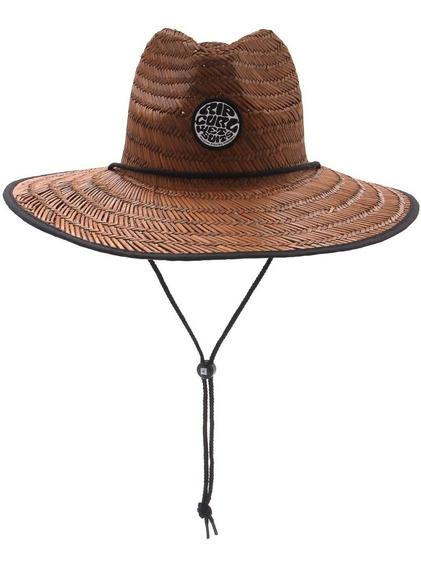Chapéu Rip Curl Wetty Straw Hat Brown Original + Nf
