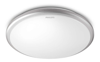 Plafón Interior Philips Twirly Gris 915004487201 Led 12w