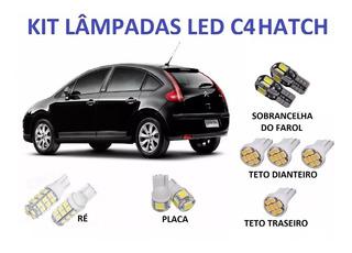 Super Lâmpadas Led C4 Hatch Teto Placa Sobrancelha + Brinde