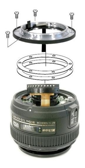 Manual Lente Nikon 18-70mm P/ Desmontagem E Reparos