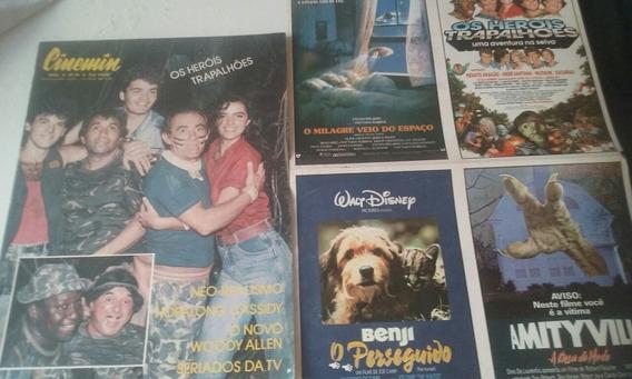 Cinemin N 24 Com Heróis Trapalhões E Com Poster Raro