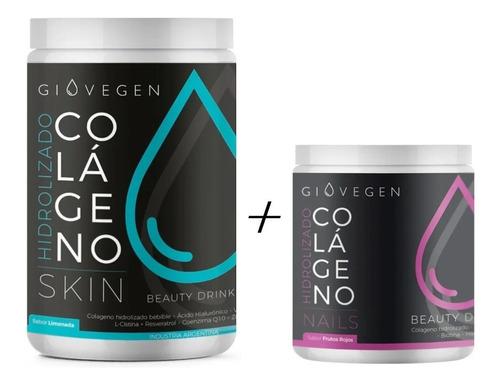 Imagen 1 de 9 de Giovegen Skin + Nails  -  Colágeno Hidrolizado Bebible