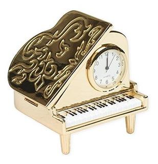 Piano De Cola Replica En Miniatura Tono De Oro 2 X 225 De Re