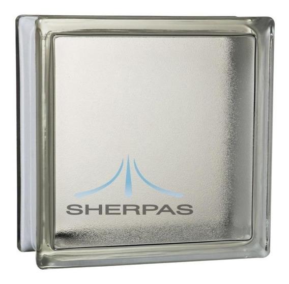 Ladrillo De Vidrio Simil Satinado Entrega Gratis Sherpas
