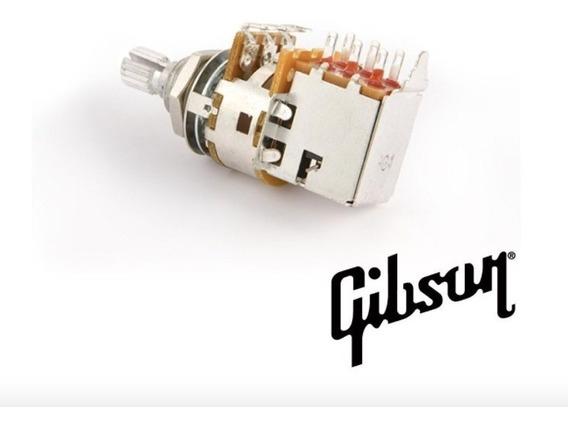 Potenciometro Push Pull Linear Curto 520k Gibson Ppat 520