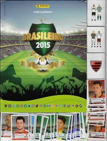 2015 Álbum Campeonato Brasileiro Vazio 37 Figurinhas 3 Plást