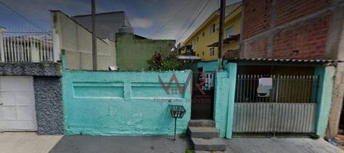 Imagem 1 de 2 de Terreno À Venda, 243 M² Por R$ 319.000,00 - Vila Antonieta - São Paulo/sp - Te0038