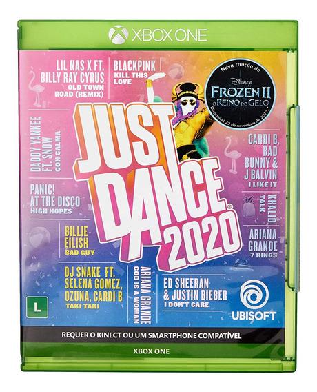 Just Dance 2020 Xbox One Midia Física + Canção Frozen Ii