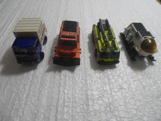 4 Matchbox Truck Snow