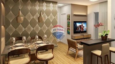 Apartamento 2 Dormitórios, Na Planta. Infraestrutura Completa De Lazer Com Muita Segurança. - Nova Odessa-sp - Minha Casa Minha Vida - Ap0137