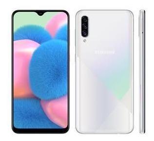 Smartphone Samsung Galaxy A30s Branco 64gb, 4gb Ram, Tela In