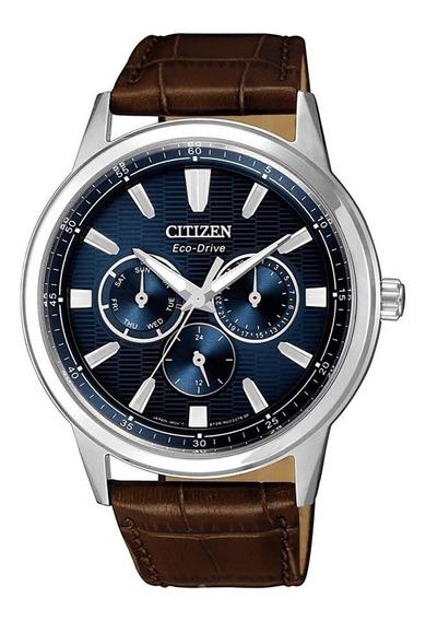 Relógio Citizen Masculino Ref: Tz20733f Eco-drive Prateado