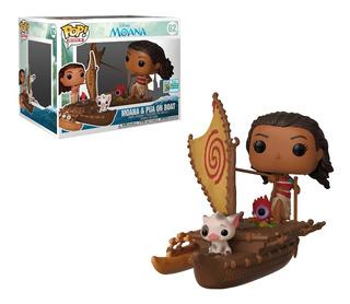 Funko Pop Moana W/ Pua On Boat (rides)