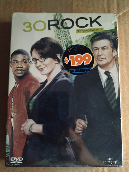 30 Rock Temporada 1 Dvd