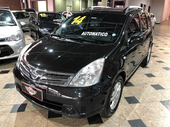Nissan Livina 1.8 S 16v Flex 4p Automático 2013 2014