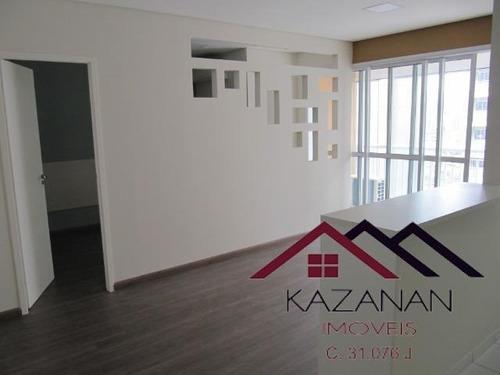 1 Dormitório (suíte), Lazer, 1 Vaga - Trend Home Office - 2109