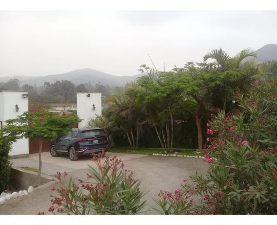 Terreno Para Casa Campo En Pachacamac