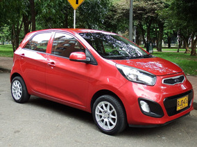 Kia Picanto Ion Motor 1.0 2012 Rojo 5 Puertas
