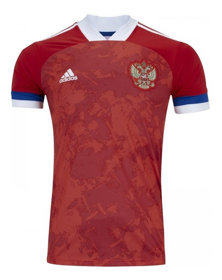 Camisa Da Rússia Novo 2020 Euro Masculino - Mega Oferta