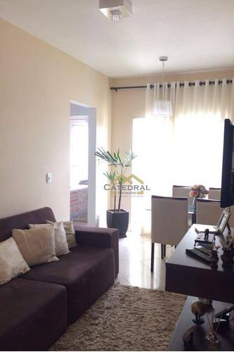 Apartamento Com 2 Dormitórios À Venda, 52 M² Por R$ 200.000,00 - Vila Nambi - Jundiaí/sp - Ap0127