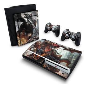 Skin Ps3 Fat Adesivo Playstation 3 Darksiders Wrath Of Wa