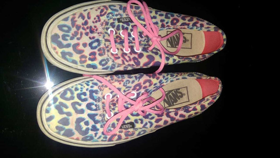 Zapatillas Vans Originales Estampada Talle M6 W7,5