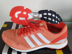 Tênis Adios Boost adidas Laranja