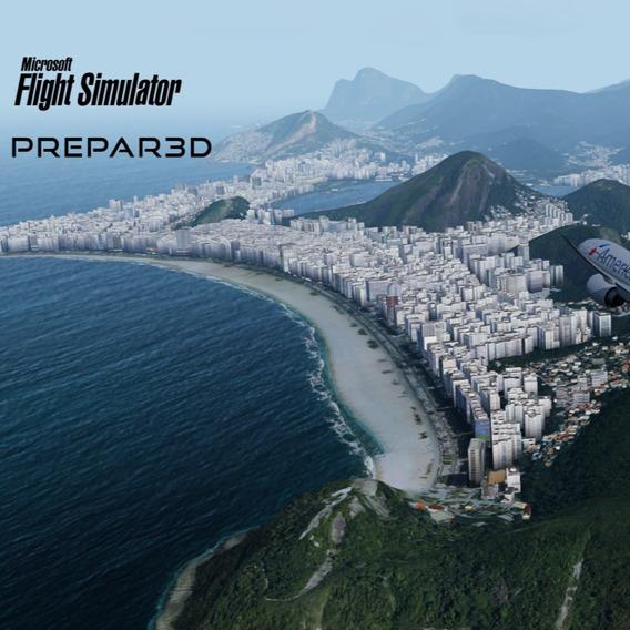 Flight Simulator X Fsx + Pacote Atualizado + Aeroportos Br