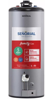 Termotanque Señorial 85 Litros Gas Linea Family Premium