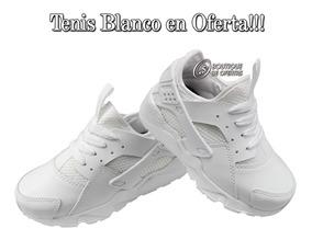 Tenis Blanco Colegial En Oferta!!!