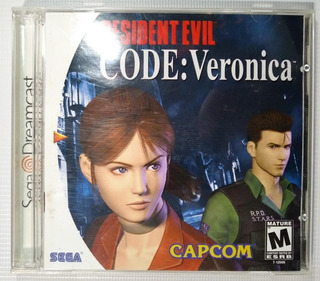 Resident Evil Code: Veronica Sega Dreamcast Original Cib