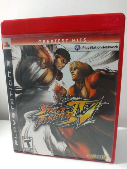 Jogo Street Fighter Iv Playstation 3