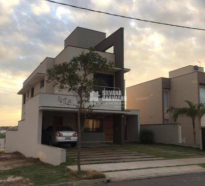 Casa Com À Venda No Residencial Central Parque Em Salto - Ca7499