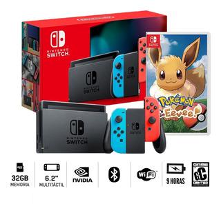 Consola Nintendo Switch 2019 + Pokemon Let