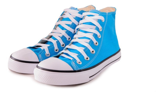 Tênis Converse All Star Bota Azul Luccas Neto Infantil