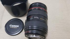Lente Canon 24-70 2.8l Ultrasonic - 12x Sem Juros!