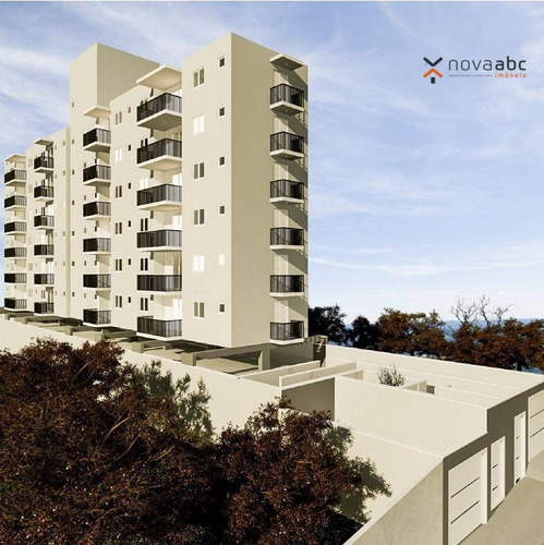 Lançamento - Apartamento Com 2 Dormitórios À Venda, 49 M² Por R$ 253.504 - Vila Príncipe De Gales - Santo André/sp - Ap0340