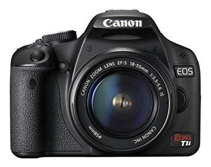 Câmera Canon Eos Rebel T1i - Lentes + Cartão + Acessorios