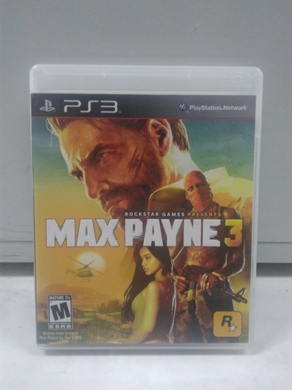 Max Payne 3 - Playstation 3 - Mídia Física